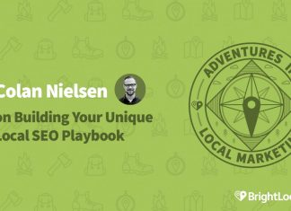 Colan Nielsen on Building Your Unique Local SEO Playbook