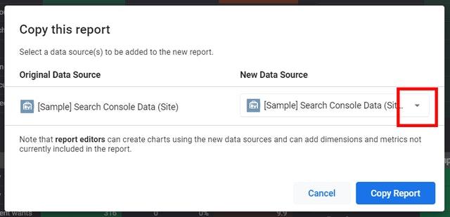 Google Data Studio Screenshot 9